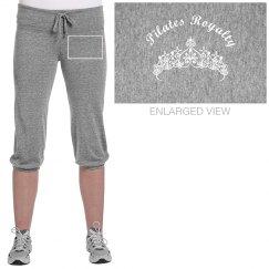Pilates Royalty Capri Pants