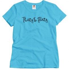 Thirty and Flirty Birthday Shirt