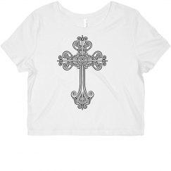 Belly shirt / cross