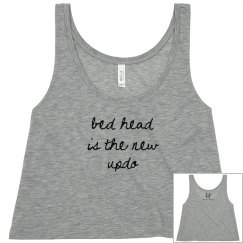 Bed Head 2 Crop Tank