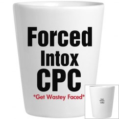 Forced Intox Shot Glass