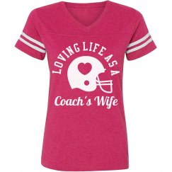Love For A Coach's Wife