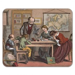 Antique School Mousepad