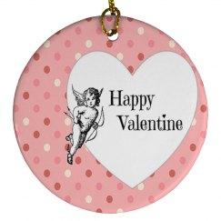 Happy Valentine Ornament