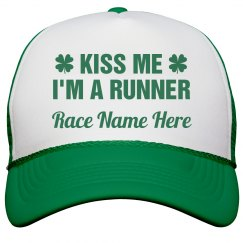Custom St Patricks Day Race Hat