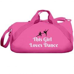 Girl loves dance