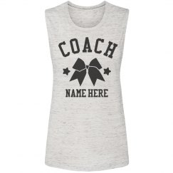 Personalized Cheer Coach Tank