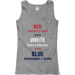 Patriotic Red, White, and Blue
