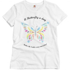 Smiling Butterfly Tee