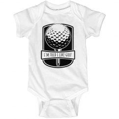 I'm Told I Like Golf