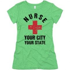 Nurse Custom City And State