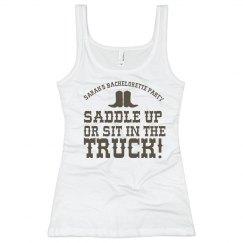 Saddle Up Or...