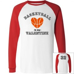 Basketball Valentine