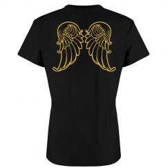Angel Wings Back Design
