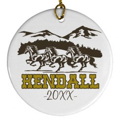 Horse Lover Ornament