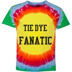 Tie Dye Fanatic Tie Dye Tshirt