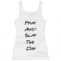 Pray and Slay Neon Tank (long)