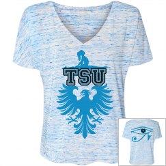 TSU Girl V-Neck Tee