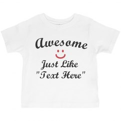 Awesome like text here