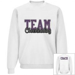 Cheer coach sweatshirt