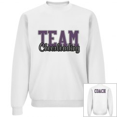 Cheer coach sweatshirt