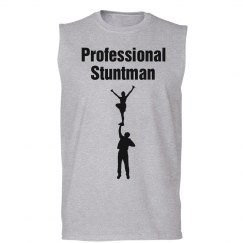 Professional stuntman