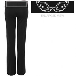 Wing Yoga Pants