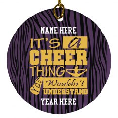 Cheer for a Cheer Tree