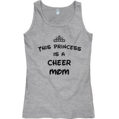 This princess is a cheer mom