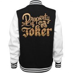 Golden Metallic Property Of Joker Jacket
