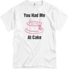 You had me at cake