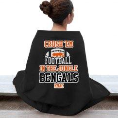 Crush Em Jungle Blanket