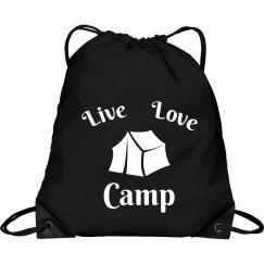 Live love camp bag