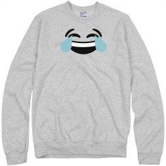 funny face emoji