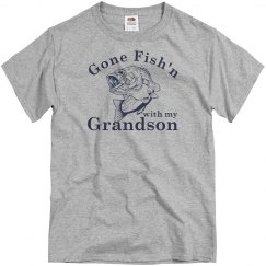 Grandson Fishing