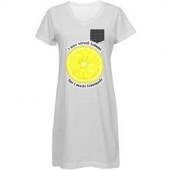 Trendy Lemonade CoverUp Dress