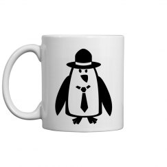 Mobster Pinquin Mug