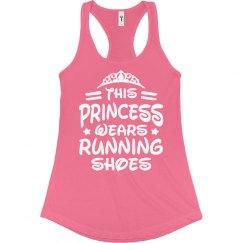 Princess Wears Running Shoes