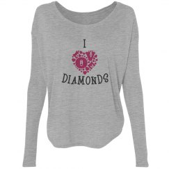 I love diamonds
