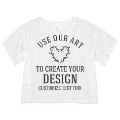 Custom Crop Top Create A Design