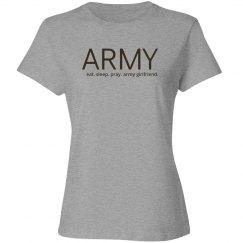 Eat sleep pray army girlfriend