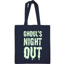 Glow Text Ghoul's Night Out