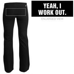 Yeah, I Work Out