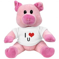 I love you! Piggy