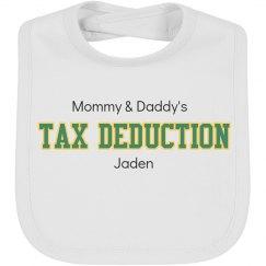 Tax Deduction Bib