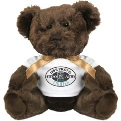 Proud Fighter Bear -Brown
