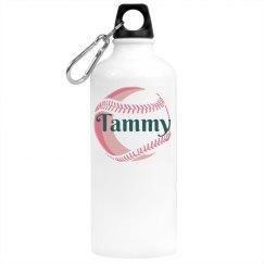 Baseball Softball Water Bottle