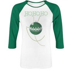 HoHoHo Green Ornament