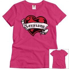 Savasana Heart