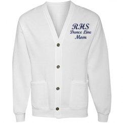 RHS Dance Line Mom (white) Cardigan